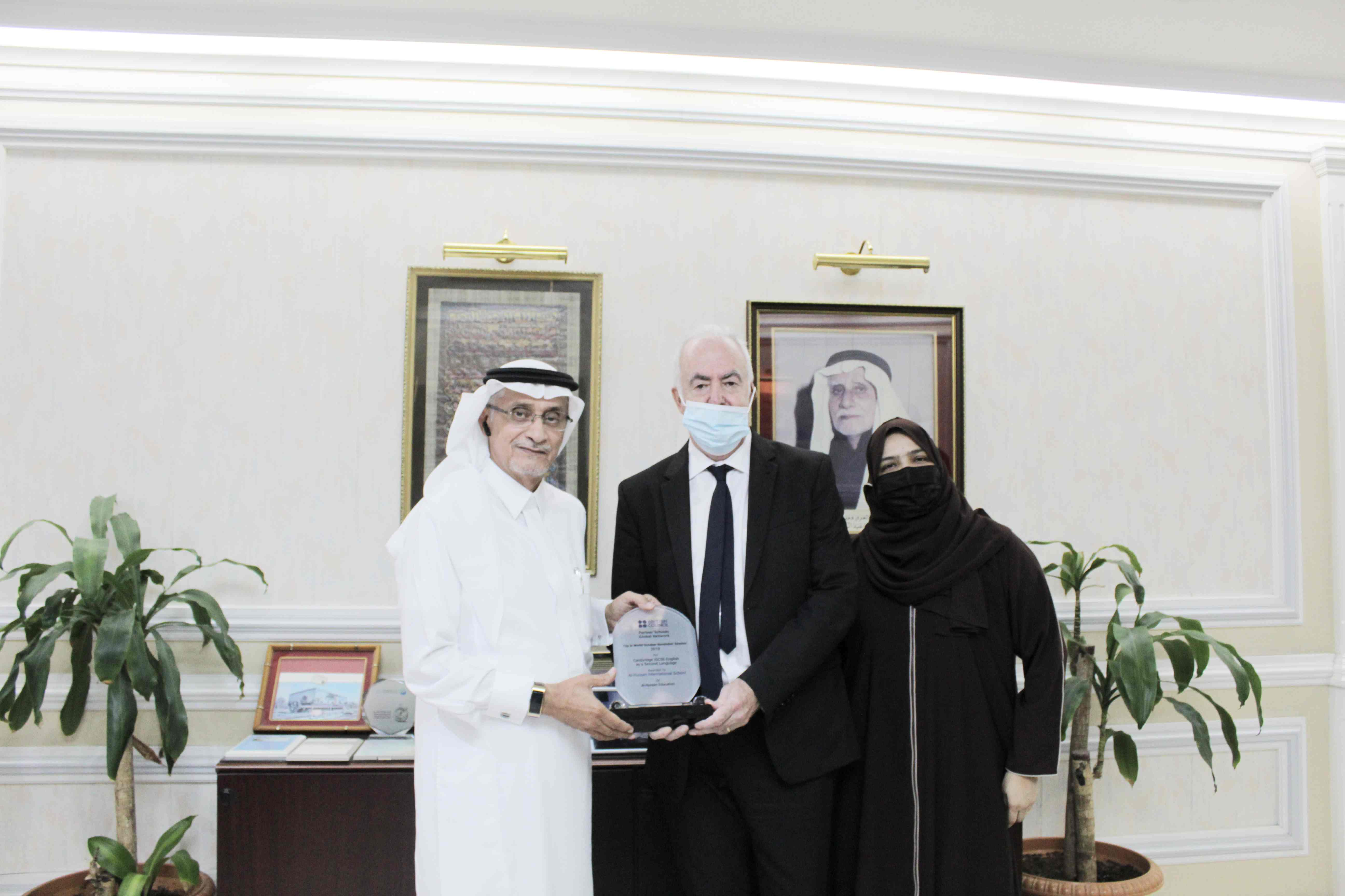 Al Hussan Group زيارة وفد من المجلس الثقافي البريطاني
